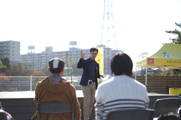 長谷川(住宅展示場での講師の様子1).jpg